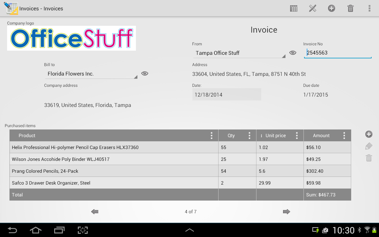 More efficient database management on mobile devices with a